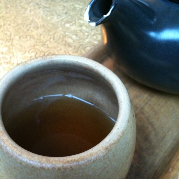 Hojicha Green Tea @ Samovar Tea Lounge