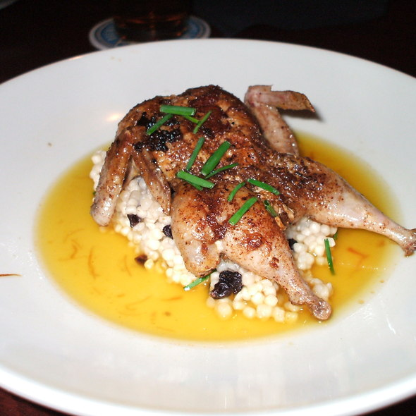 Quail Ras El Hanout @ South of Beale