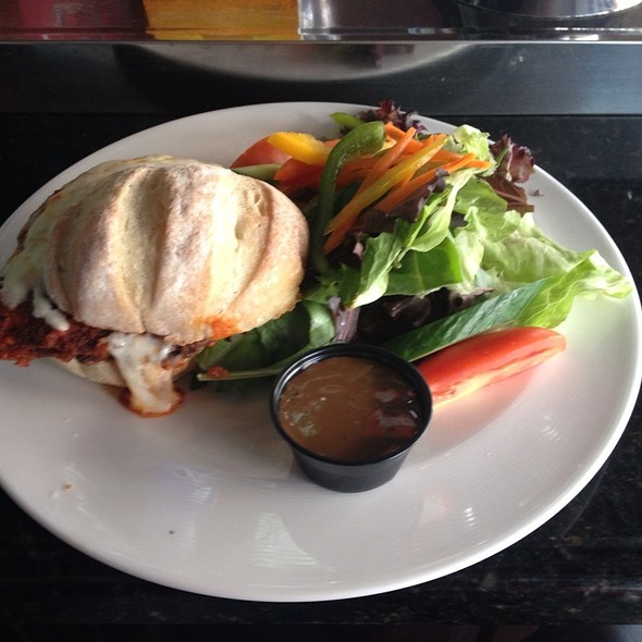 Chicken Parmesan Sandwich @ Hoops Sports Bar & Grill