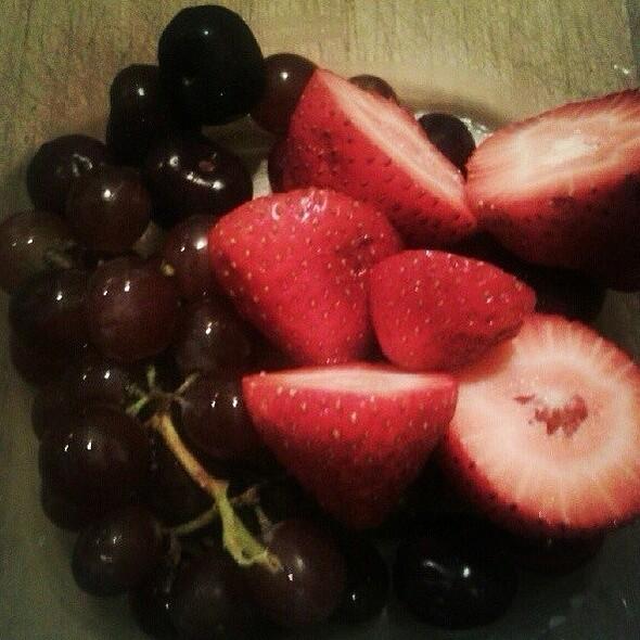 Strawberry Aguas Frescas @ Fruits