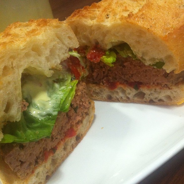 Kobe Meatloaf Sandwich @ Split Bread