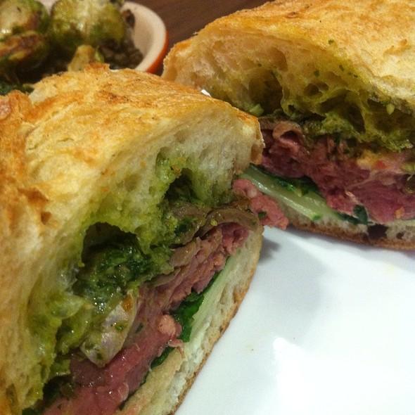 Leg Of Lamb Sandwich @ Split Bread