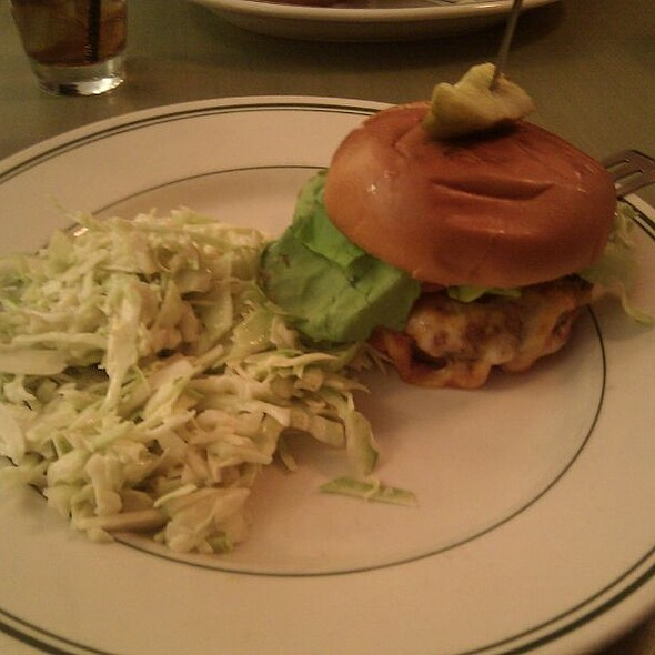 The Burger @ Save On Meats Diner