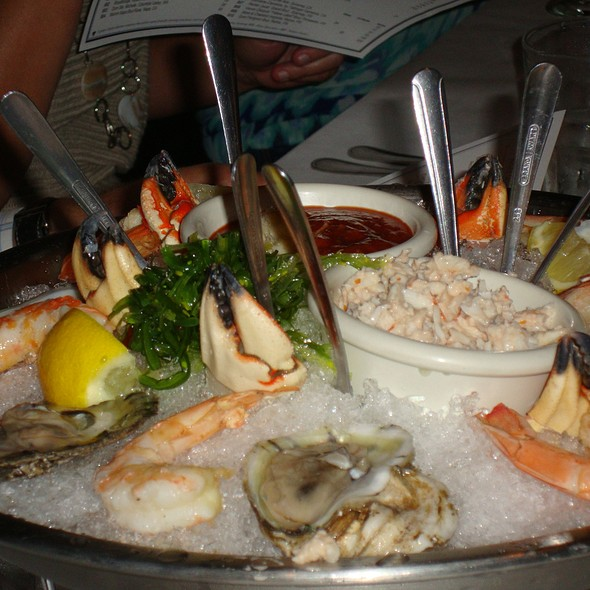 Seafood Platter Appetizer - Rusty Scupper - Baltimore, Baltimore, MD