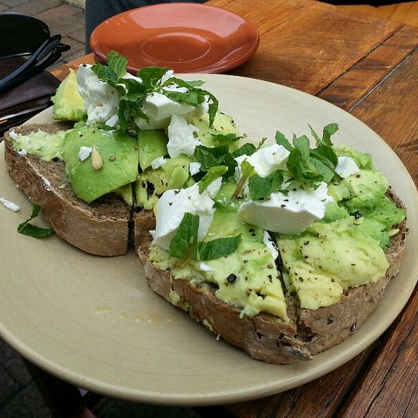 Avocado On Toast @ Circa Espresso