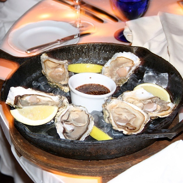 Oysters - Casitas - The Ritz-Carlton Cancun, Cancún, ROO