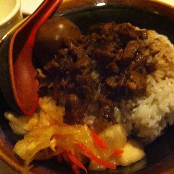 Braised Pork over Rice @ Rocking Wok