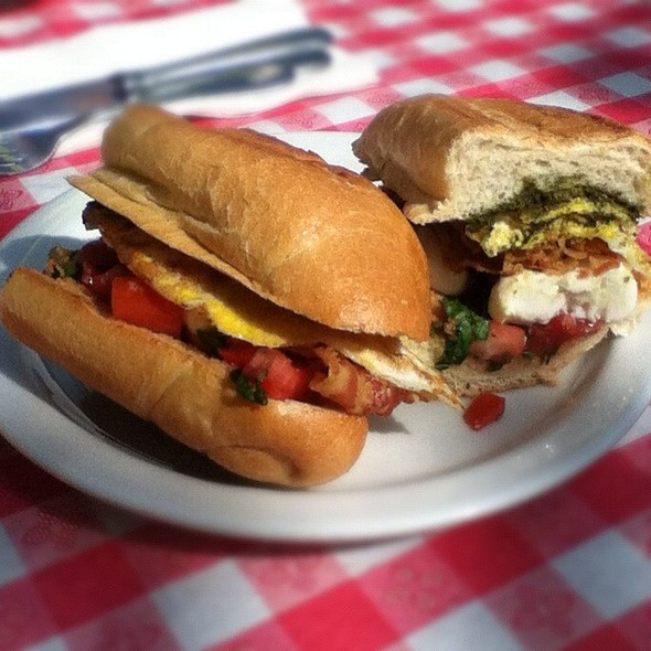 Procida Breakfast Sandwich