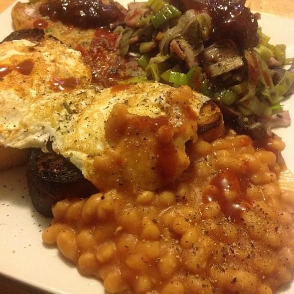 Breakfast for Dinner @ blowfish kitchen