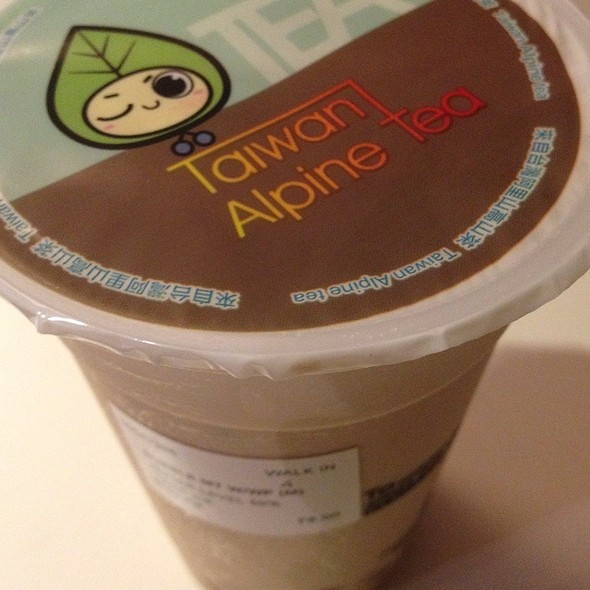 Bubble Milk Tea @ A Gantea