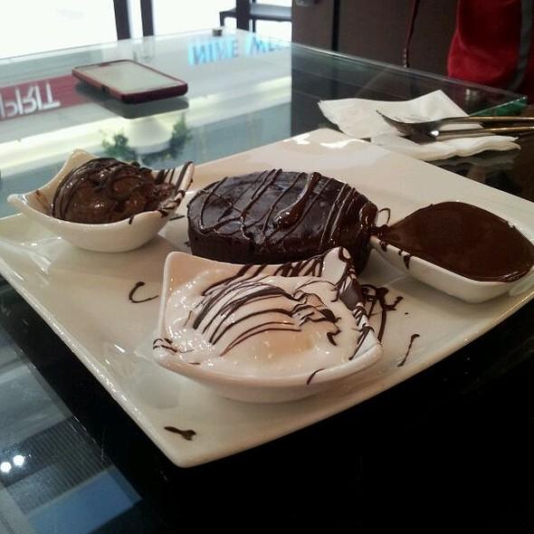 Sugar Free Chocolate Fondant @ Maya,