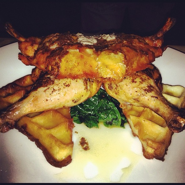 Chicken and Waffles @ Do or Dine