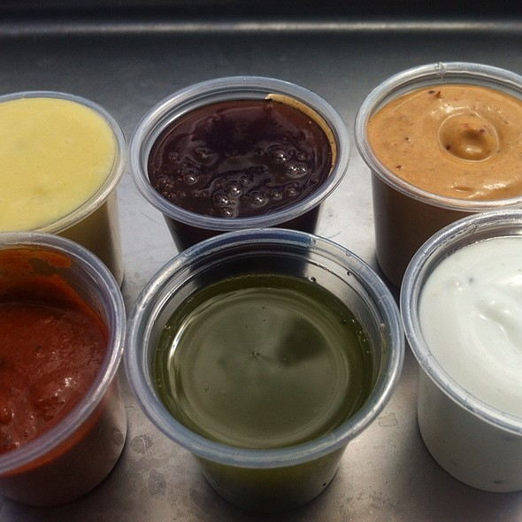 Dipping Sauces @ Best French Fries