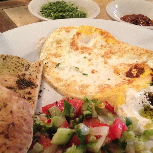 Country Breakfast @ Cafe Mogador