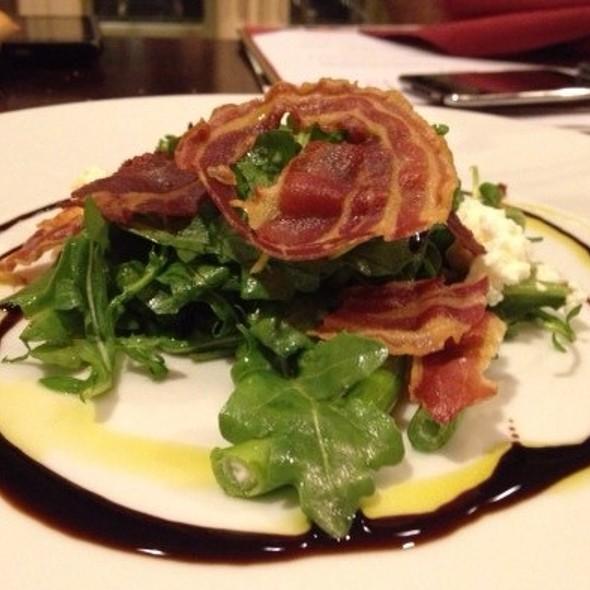 Broccolini Salad ~ Housemade Ricotta • Arugula • Pancetta • Balsamic - Pyramid Restaurant and Bar, Dallas, TX