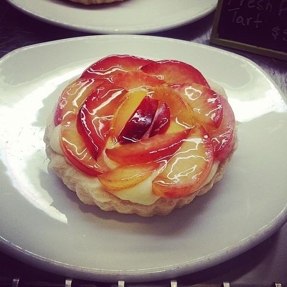 Fresh plum tart. Just looking. @ Tender Greens