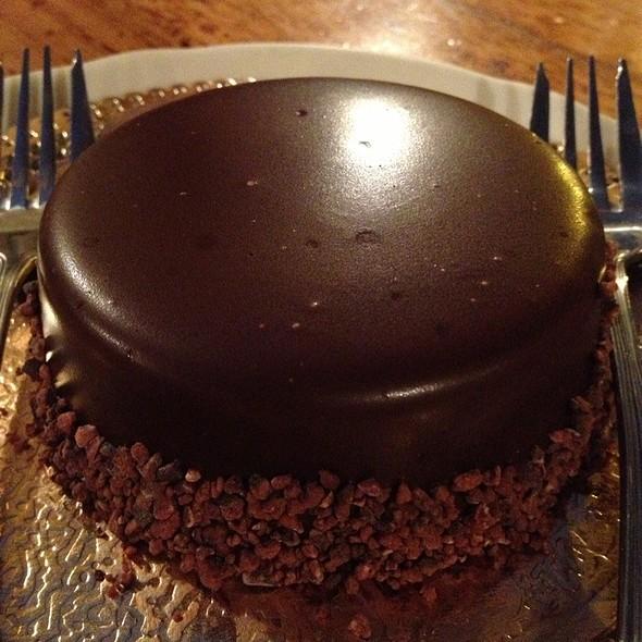 flourless chocolate cake @ Pizzeria Biga
