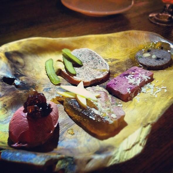House made charcuterie at @hautedish @foodexperiment @ Haute Dish