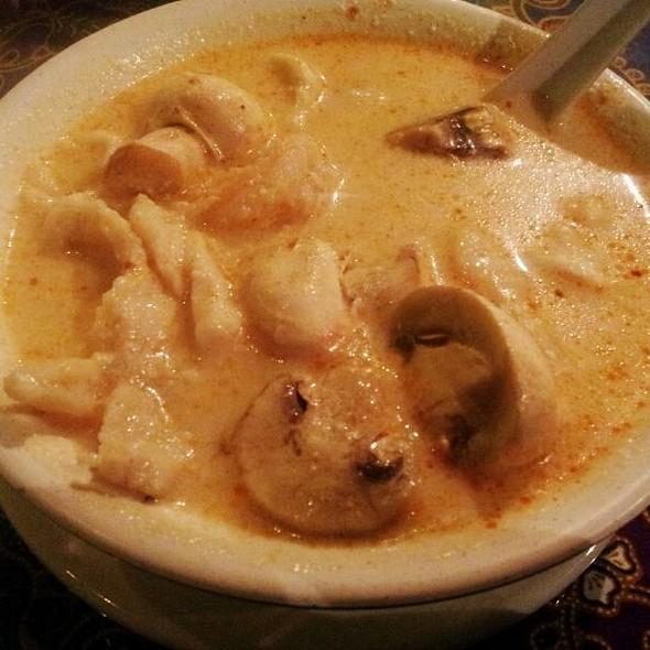 Tom Kha Shrimp And Coconut Soup