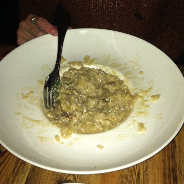 Risotto With Porcini, Apple And Walnut - Zio Cecio, Dallas, TX