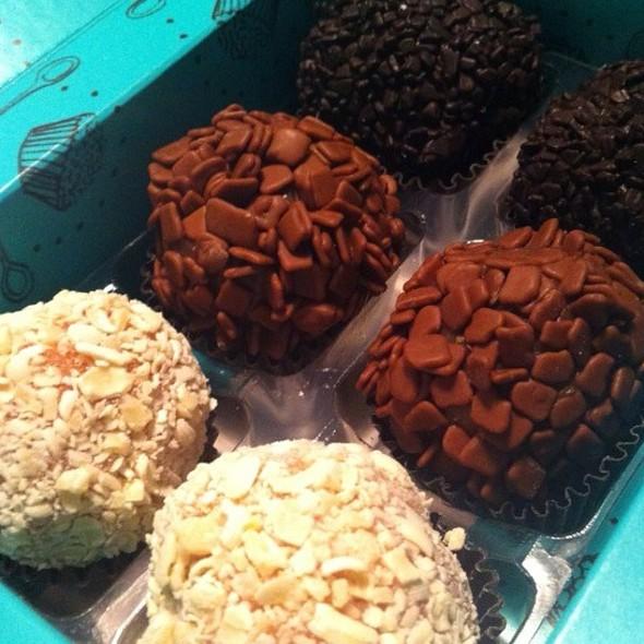Chocolate Brigadeiro @ Brigaderia - Shopping Bourbon