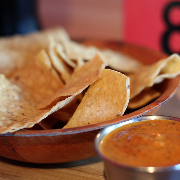 Chips and Salsa @ Papalote Mexican Grill