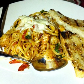 Seafood Linguine - Hush Restaurant & Bar, Toronto, ON