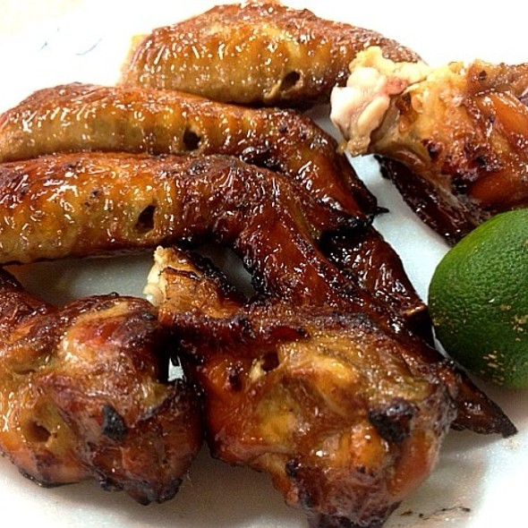 BBQ Chicken Wings @ 85 Bedok Food Centre