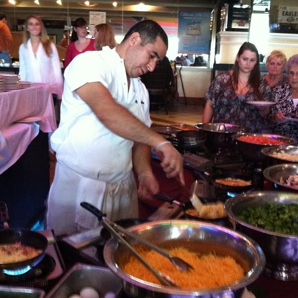 Sunday Brunch Omelette Bar - Adelphia Restaurant, Deptford, NJ