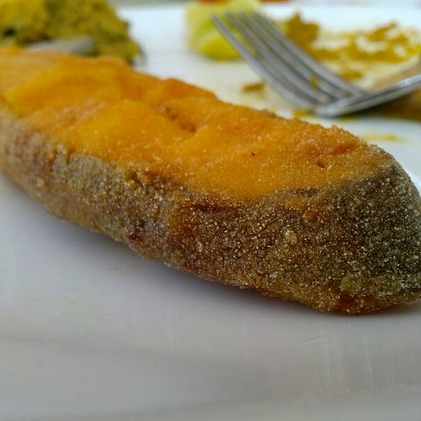 Fried Pomfret