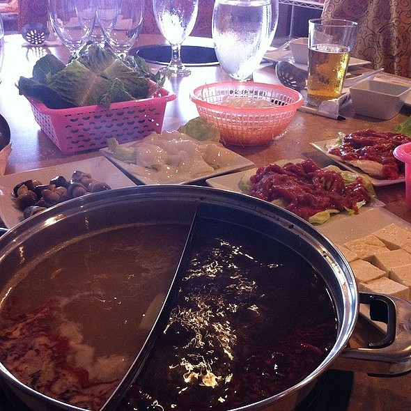 Octopus and Beef Hot Pot