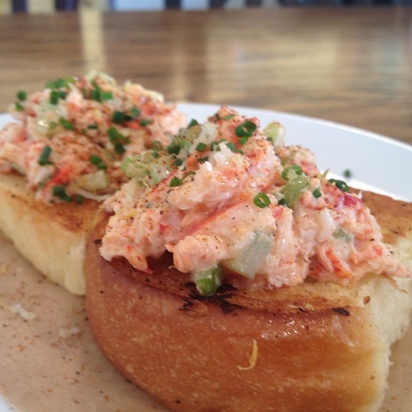 Lobster Toast @ Slapfish Restaurant