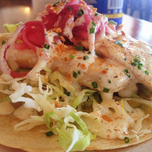 Fish Taco @ Slapfish Restaurant