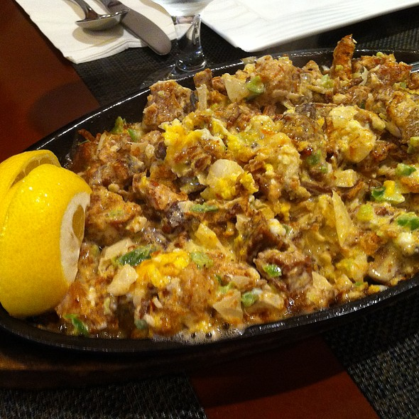 Superb Sizzling Pork Sisig At Patio Filipino