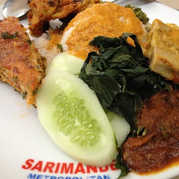 Nasi Padang @ Sarimande Metropolitan