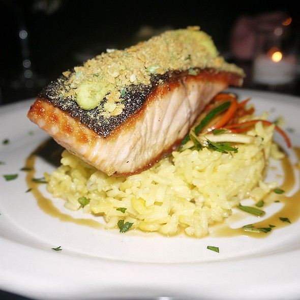 Wasabi-Crusted Atlantic Salmon - Essex, New York, NY
