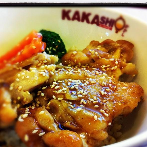 Chicken Teriyaki Don @ Kakashi | คาคาชิ (โลตัส บางปะกอก)