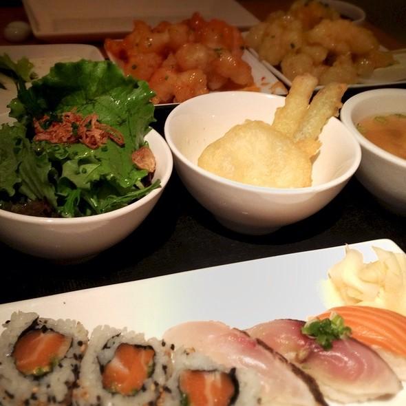 Bento Box, Spicy Rock Shrimps @ Morimoto