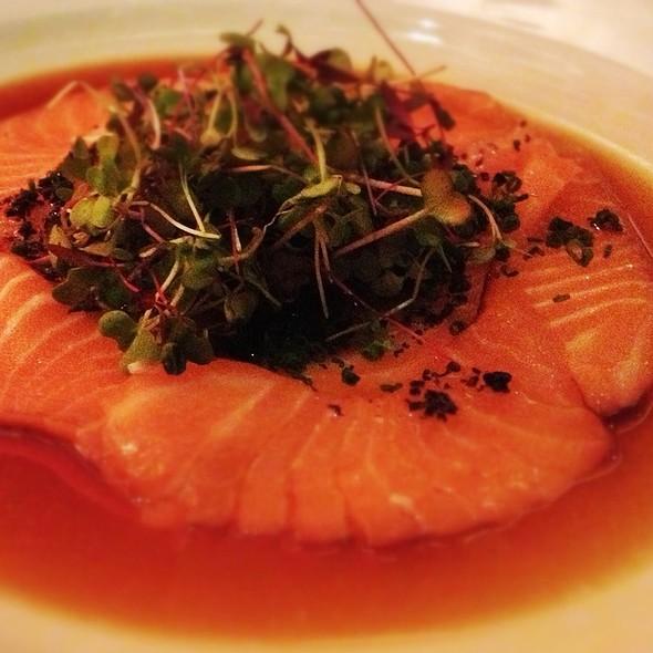 salmon carpaccio @ Koi Restaurant