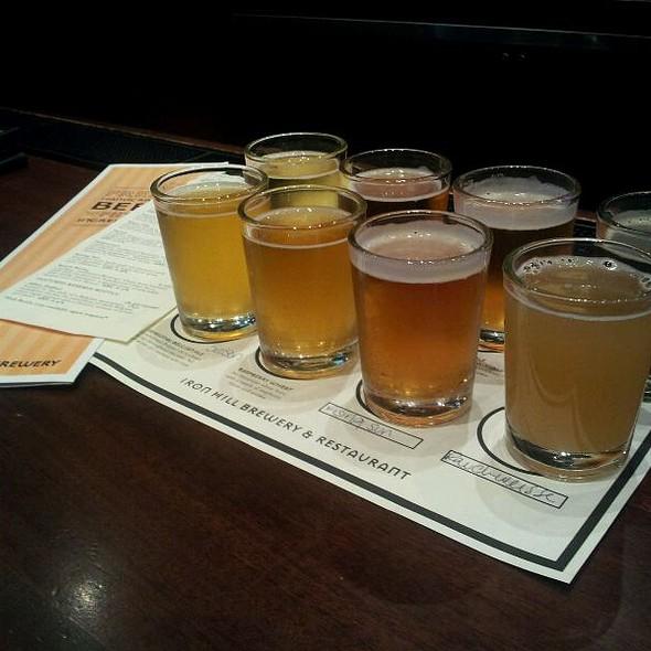 Beer Flight - Iron Hill Brewery - Newark, Newark, DE