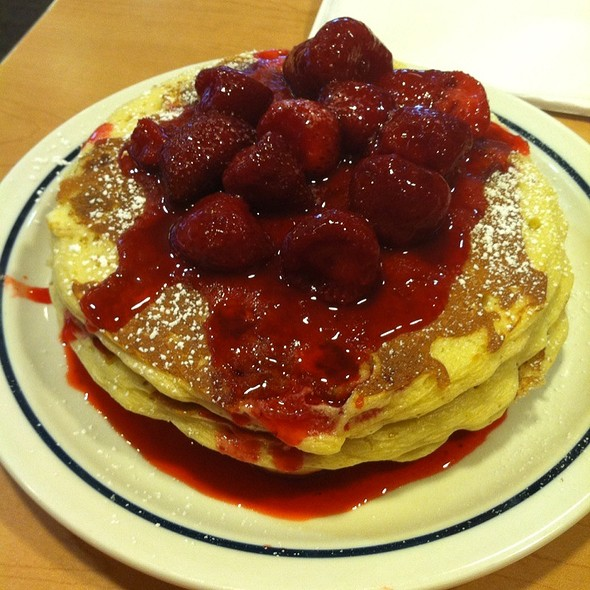 New York Cheesecake Pancakes @ IHOP Restaurant