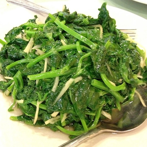 Stir Fried Pea Sprouts W/Ginger