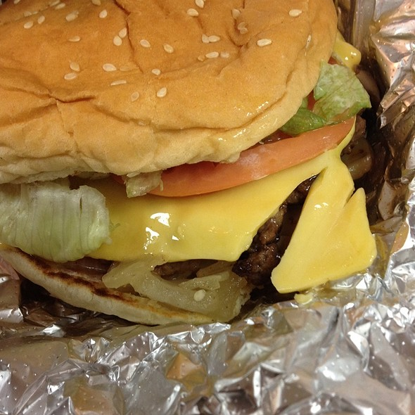 Little Cheeseburger @ Five Guys Burgers and Fries