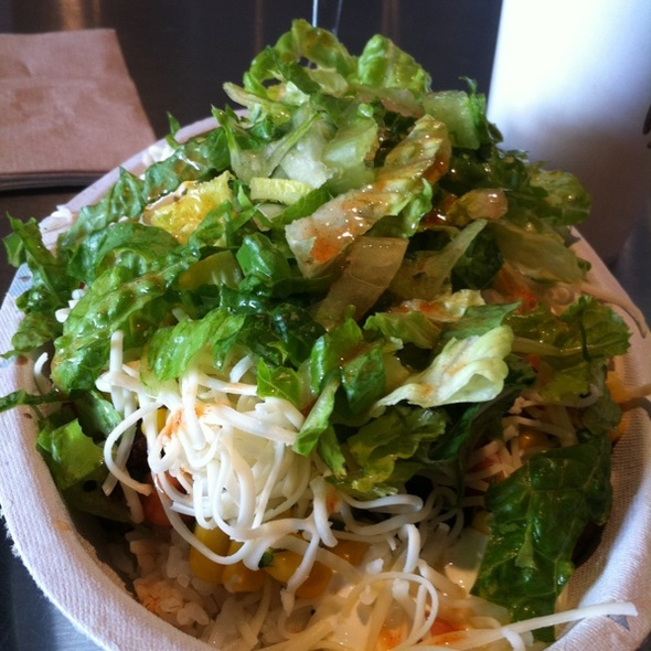 Steak Burrito Bowl @ Chipotle Mexican Grill