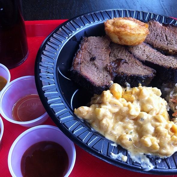 Brisket Plate @ B&C BBQ
