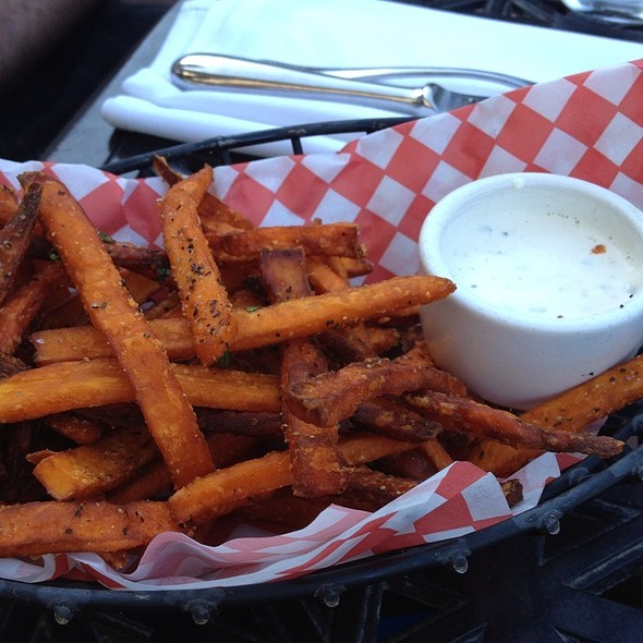 Sweet potato fries @ Beach Chalet