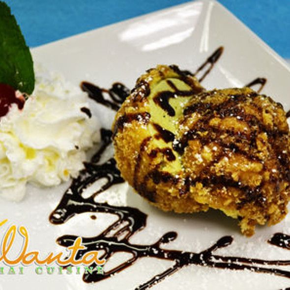 Tempura Fried Icecream - Wanta Thai Cuisine, Redmond, WA