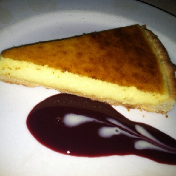 lemon tart - La Mangeoire, New York, NY