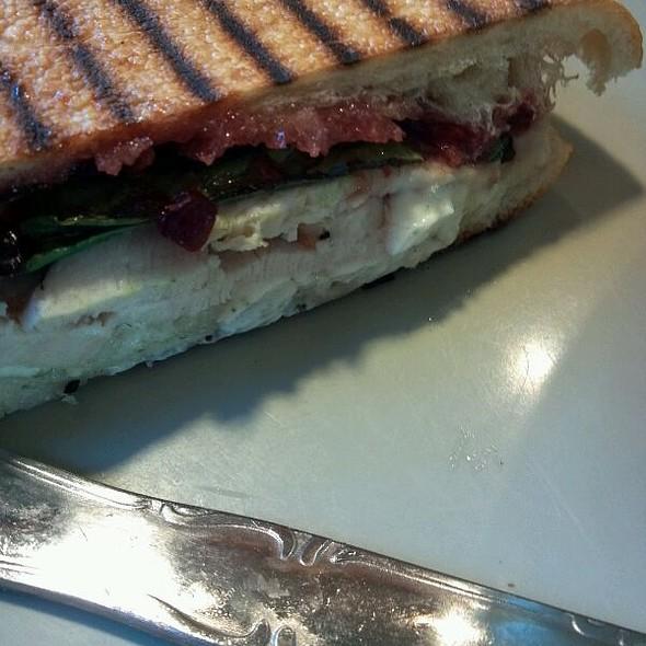Harvest Turkey and Cranberry Sandwich @ Panera Bread