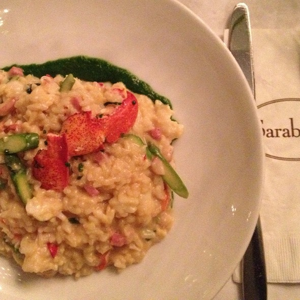 Lobster Risotto - Sarabeth's Central Park South, New York, NY